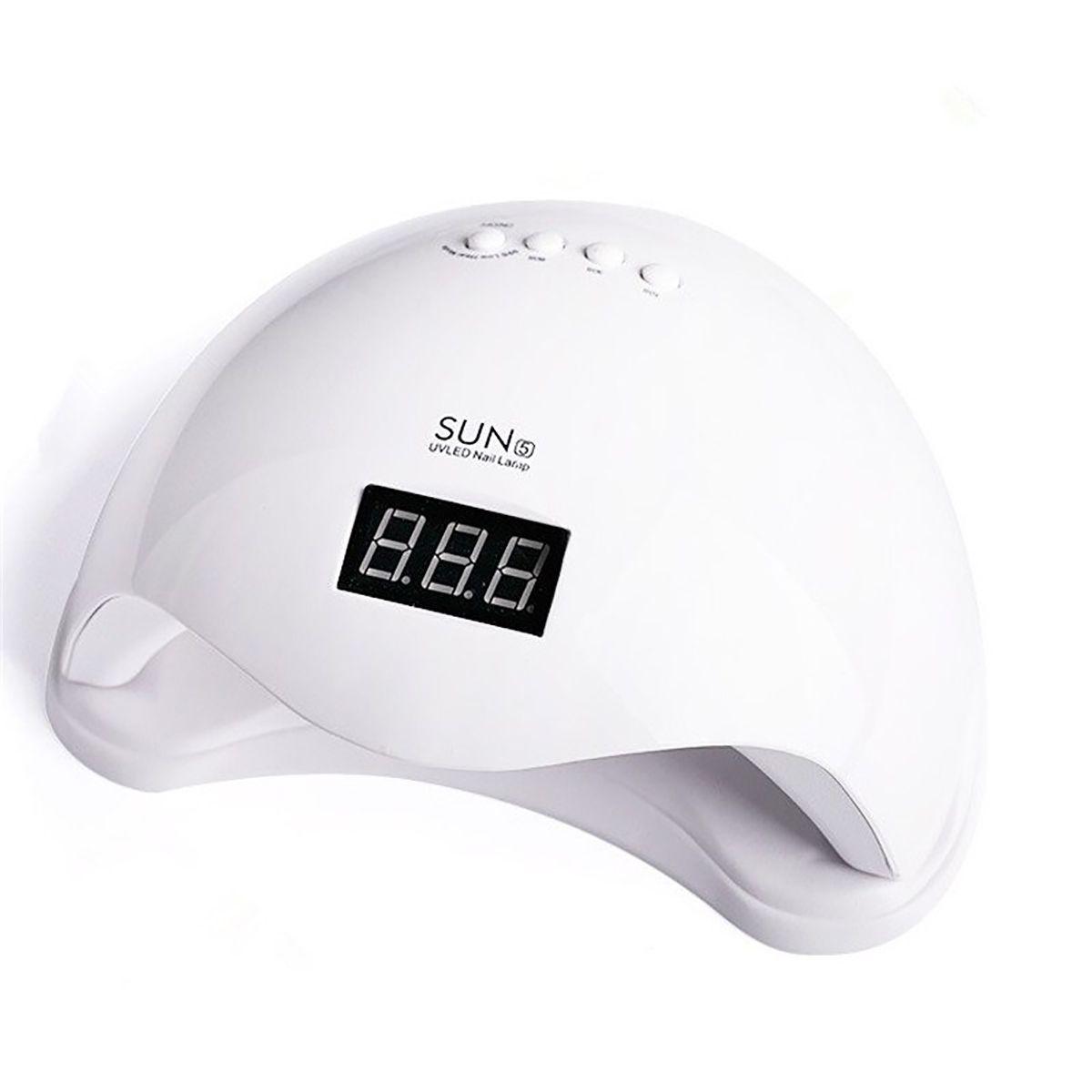 Cabine Led UV Sun 5 48W Bivolt Digital Temporizador Sensor