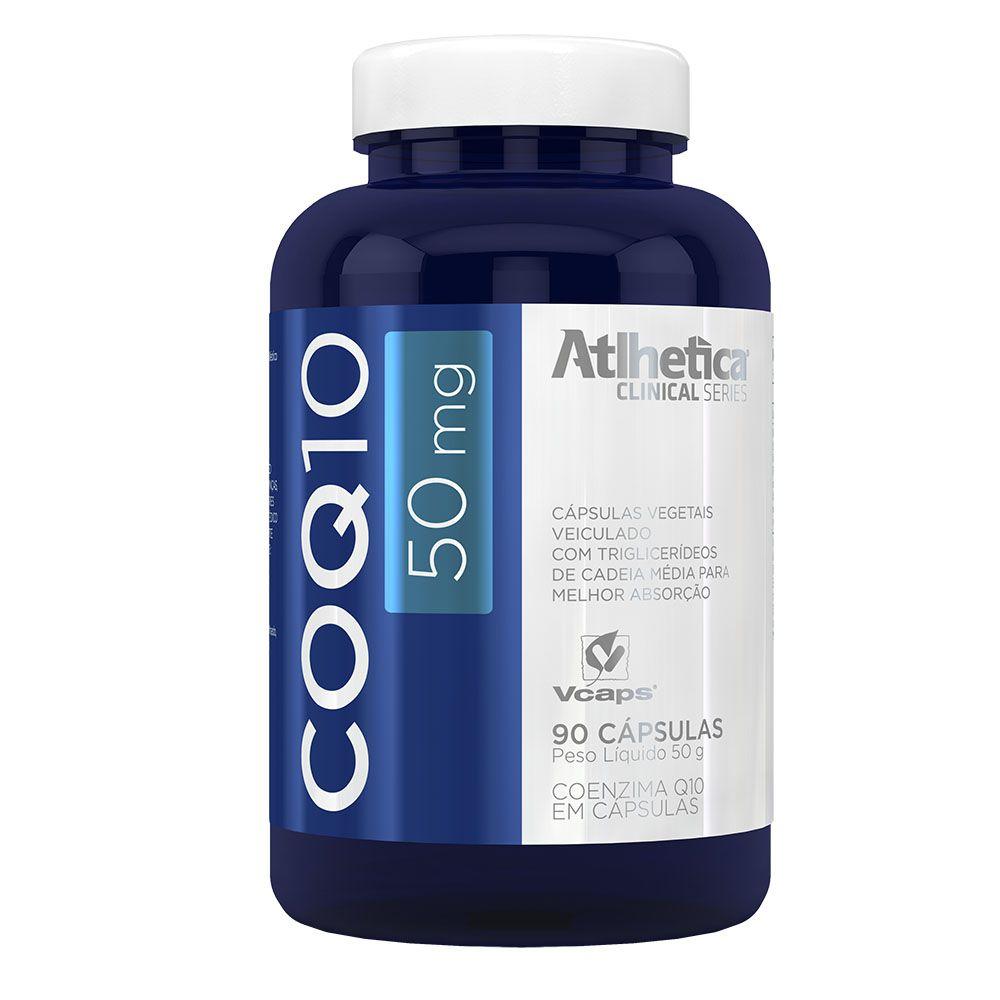 Coenzima Q10 - Coq10 90 Capsulas - Atlhetica