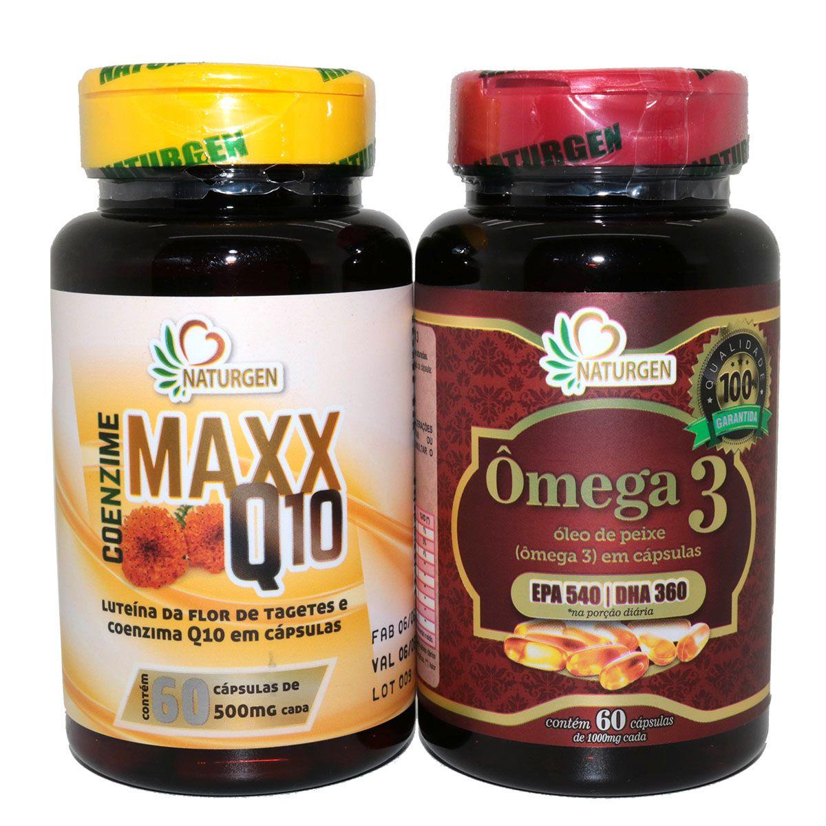 Coenzima Q10 Luteina Zeaxantina + Omega 3