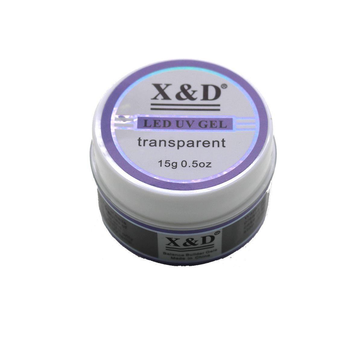Gel X&D Led UV Unhas de Fibra Acrigel Alongamento XD Original