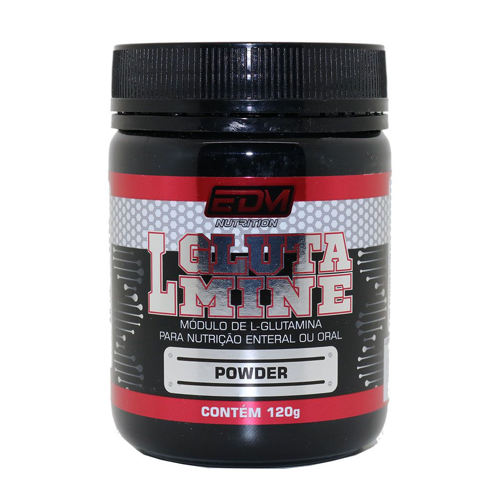 Glutamina Powder L-Glutamina 120g EDM Nutrition