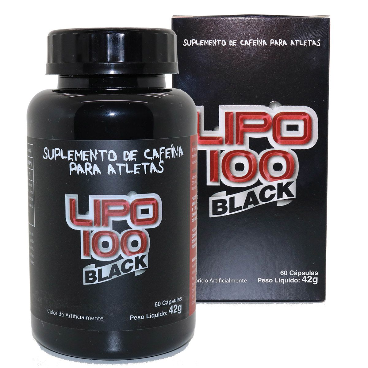 Lipo 100 Black Termogenico Ultra Concentrado