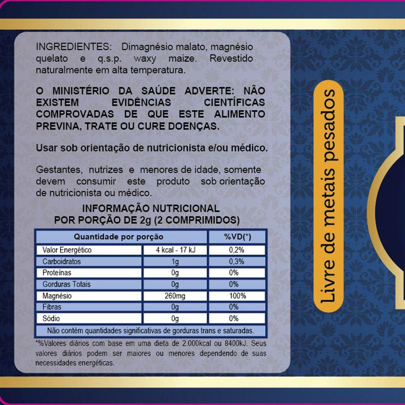 Magnesio Dimalato 1000mg + 2 Oleo De Coco Naturcaps