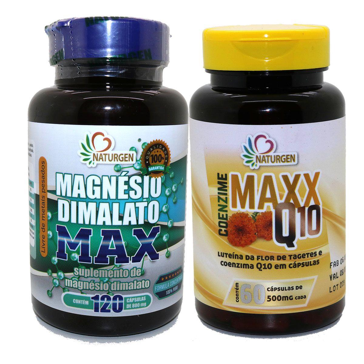 Magnesio Dimalato Coenzima Q10 Luteina Zeaxantina