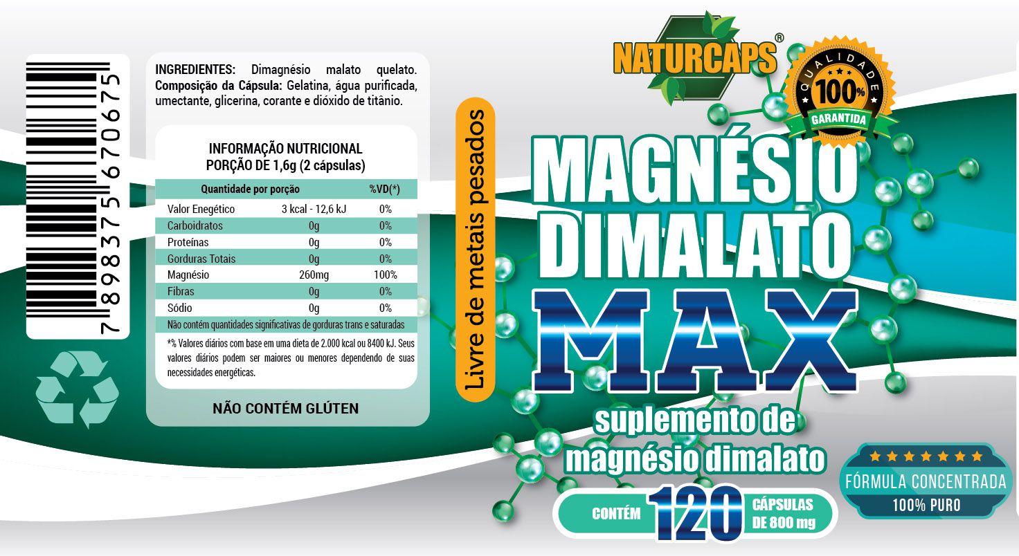 Magnesio Dimalato Vitamina K2 CALCIO 600 + D3  2 MESES