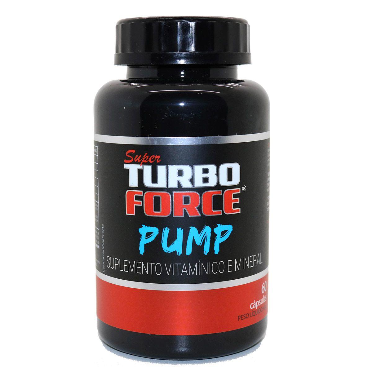 Super Turbo Force - Pump - 60 Cápsulas - Intlab