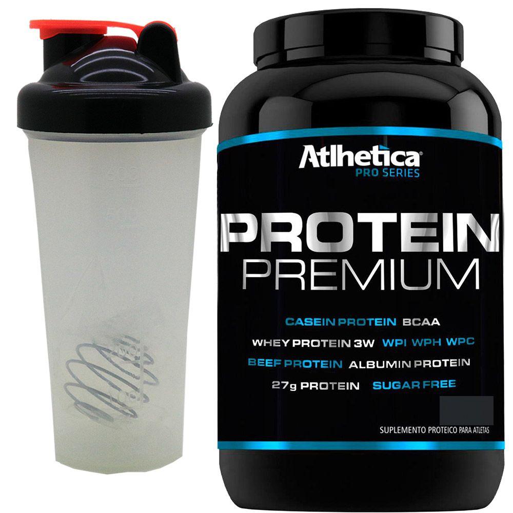 Whey Protein Premium Pro Series Atlhetica + Copo