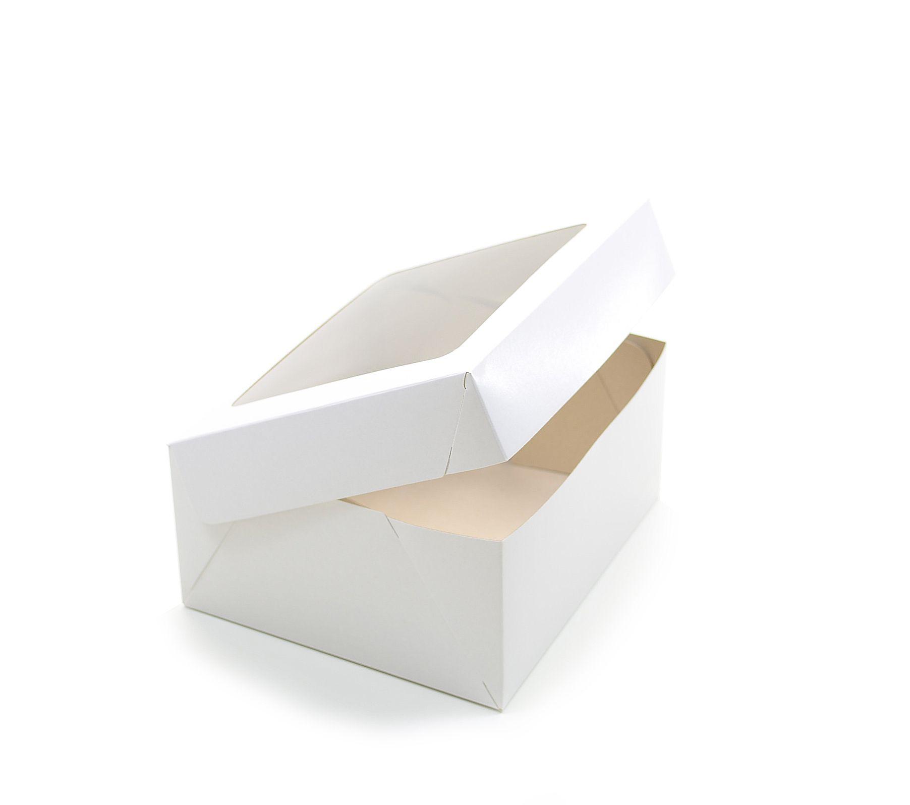 079 Caixa Branca c/ e s/ visor - 18,5x16,5x9 cm