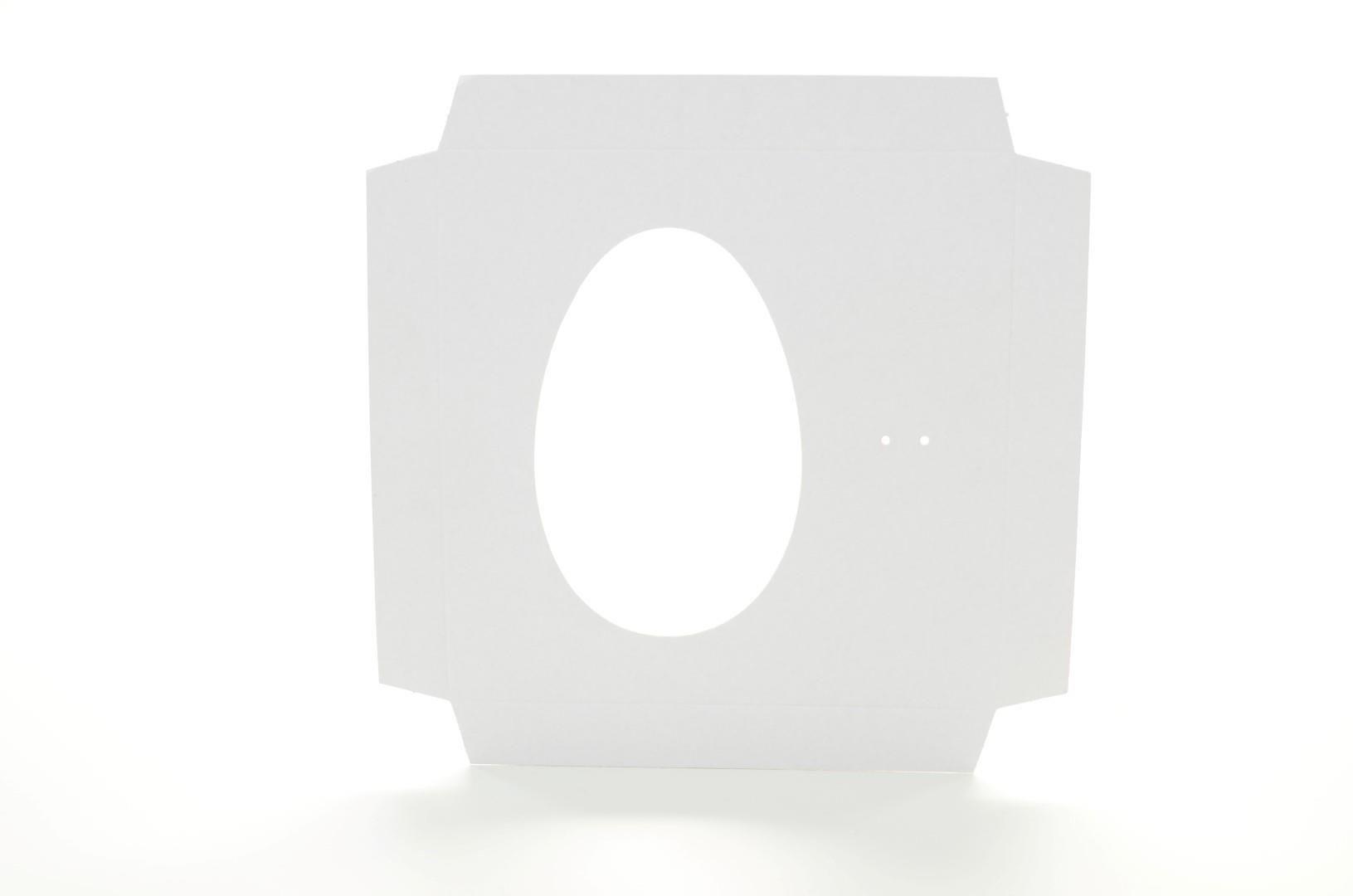 D004 Acessório Ovo ou Coração - 17,5x17,5x5 cm