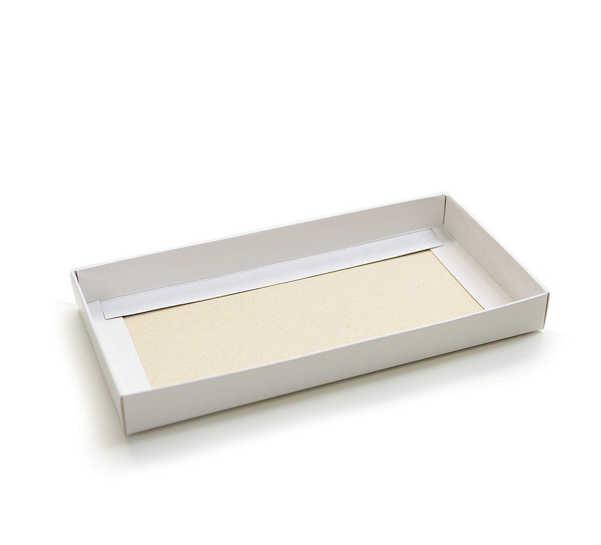 F021 - Fundo - 16x8x1,7 cm - Branca