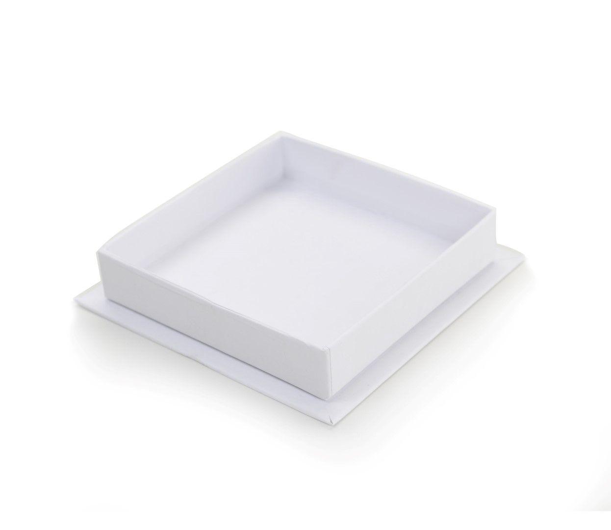 F108 Plus - Fundo - 10x10x2 cm - Branca