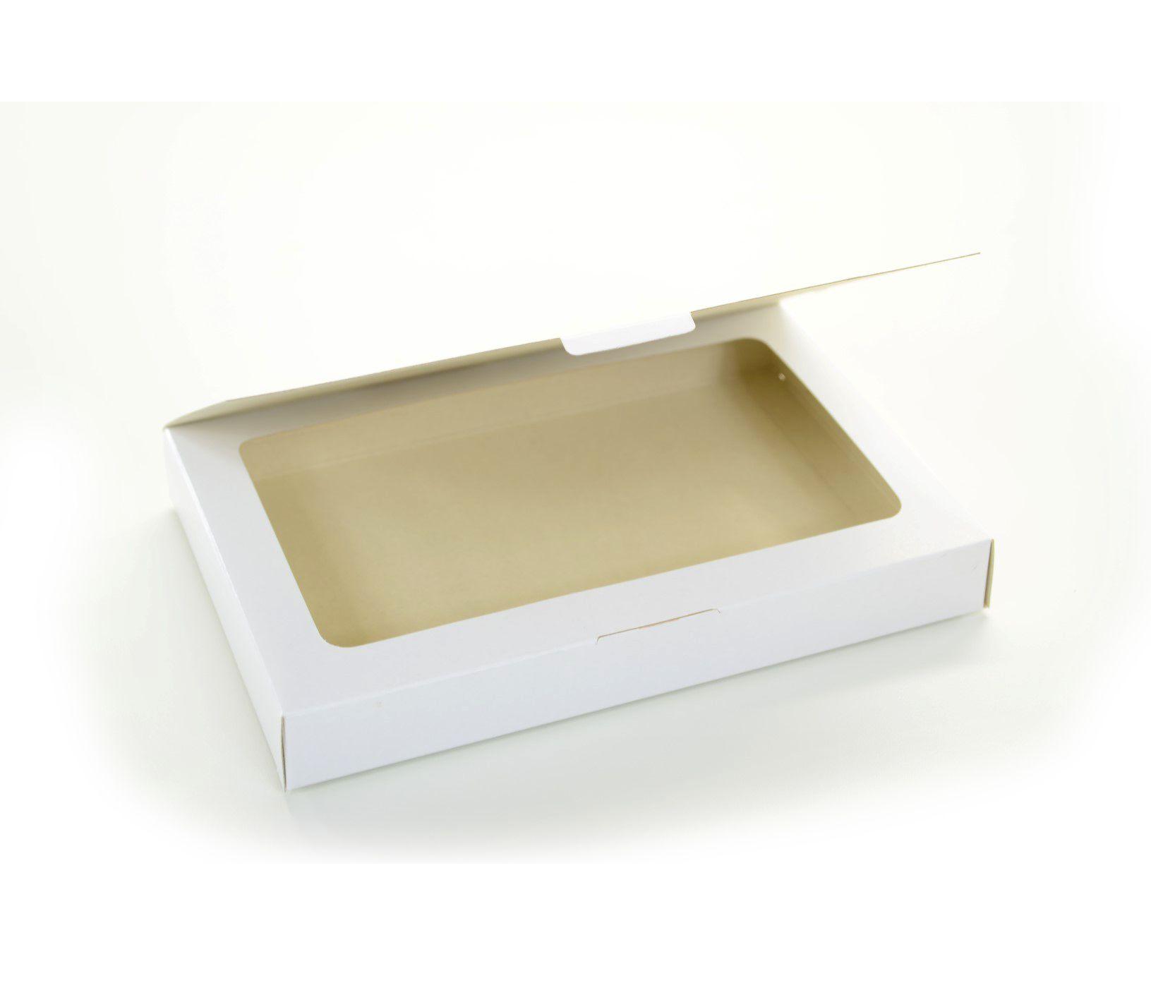 Ref 010 Branca - Caixa estojo - 24x16x3 cm - c/ 10 unidades