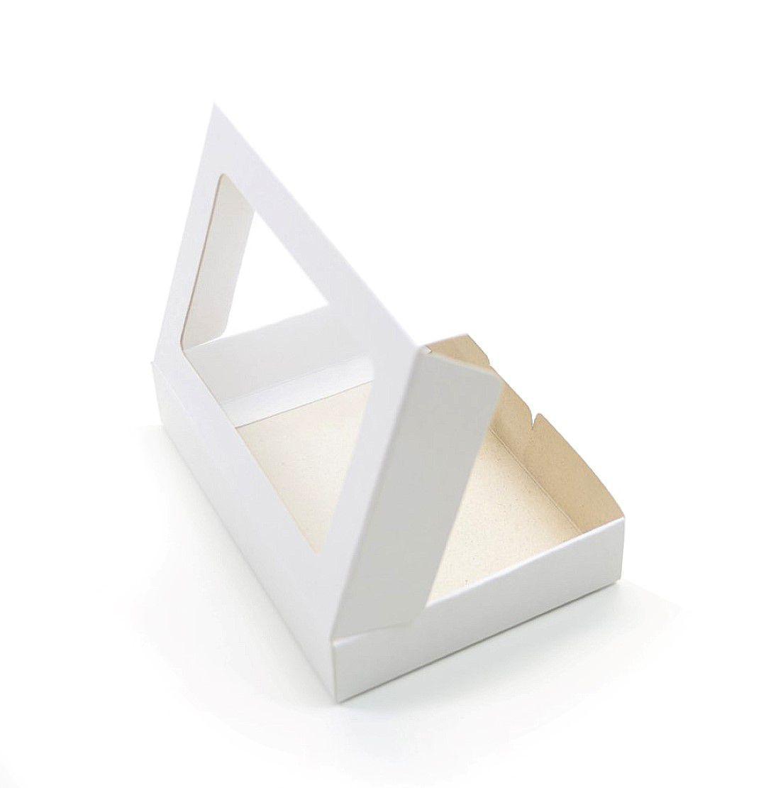 Ref 012 Branca - Caixa estojo - 13x9x2,5 cm - c/ 10 unidades