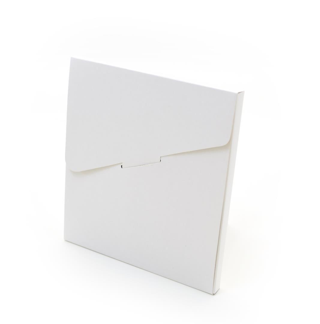 Ref 028 Branca - Envelope - 13,5x1x14,5 cm - c/10 unidades