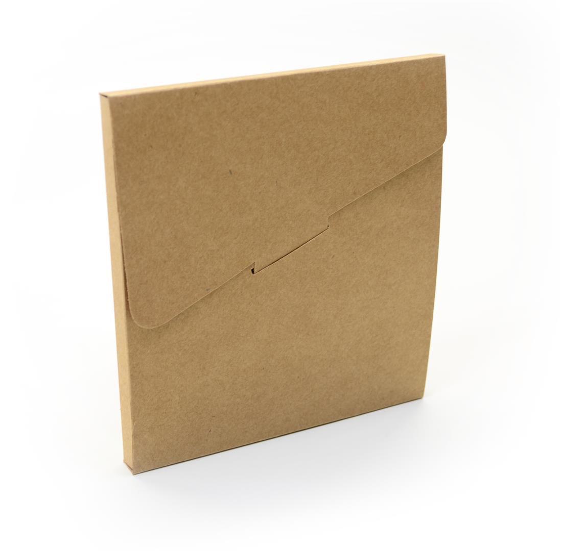 Ref 028 Kraft - Envelope - 13,5x1x14,5 cm - c/10 unidades
