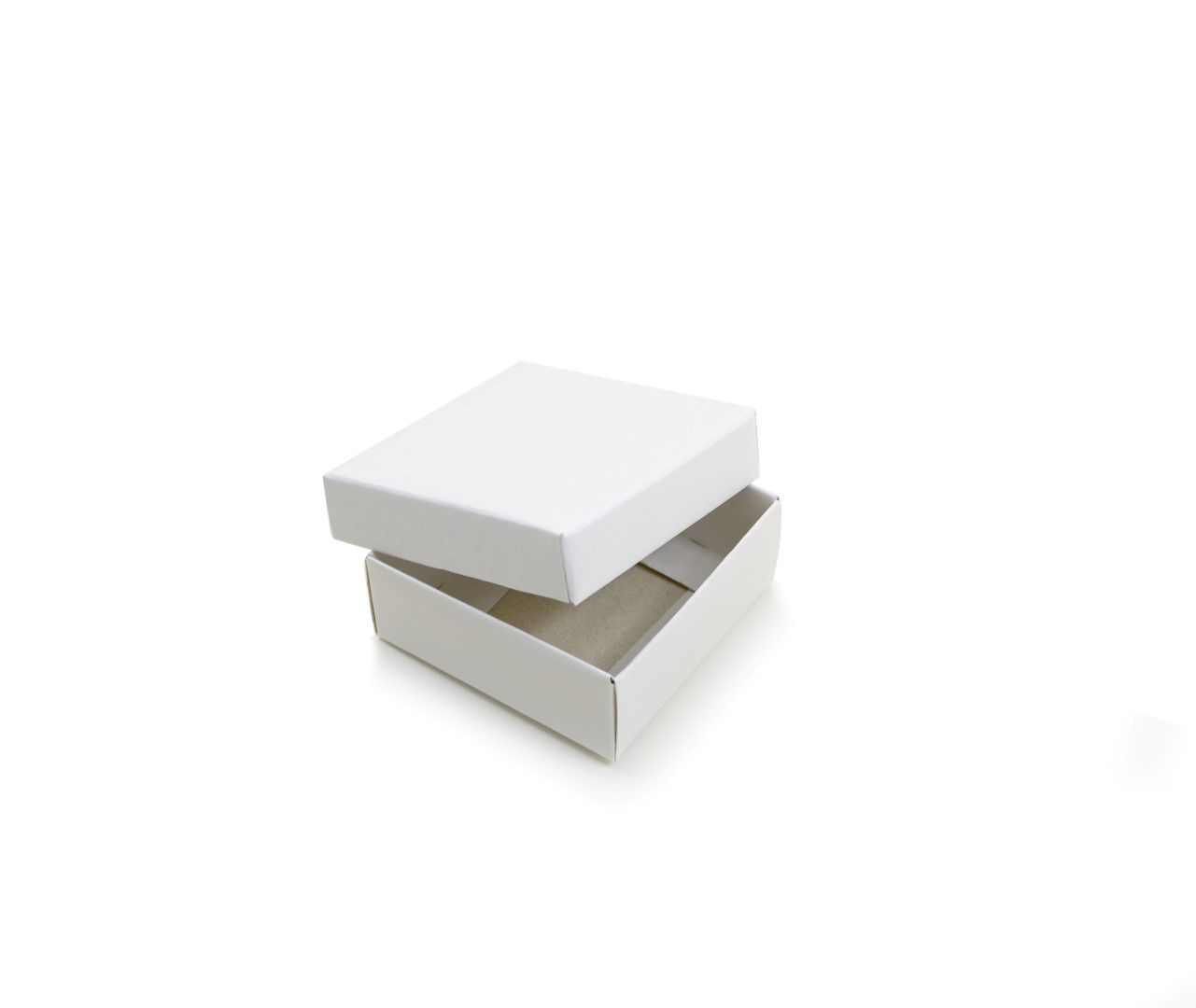 Ref 099 Branca - Caixa c/ Tampa Papel - 6x6x2,5 cm - c/ 10 unidades