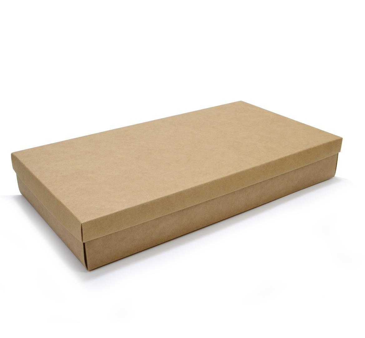 Ref 132 Kraft Alta - Caixa c/ tampa papel - 43x23x6,5 cm - c/ 10 unidades
