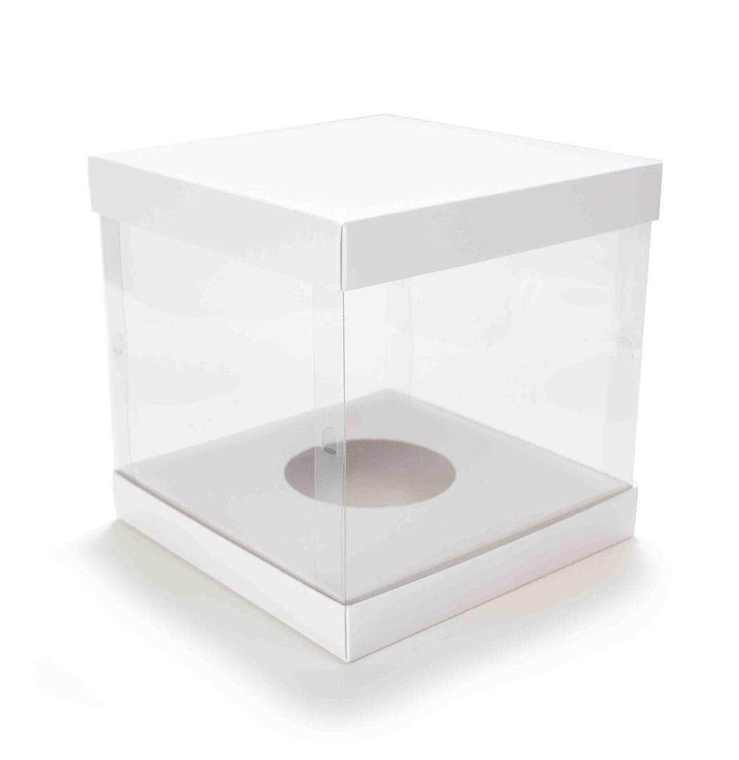 Ref 140 Branca - Ovo Trufado de 500 à 750 gramas - 20x20x20 cm - c/ 10 unidades