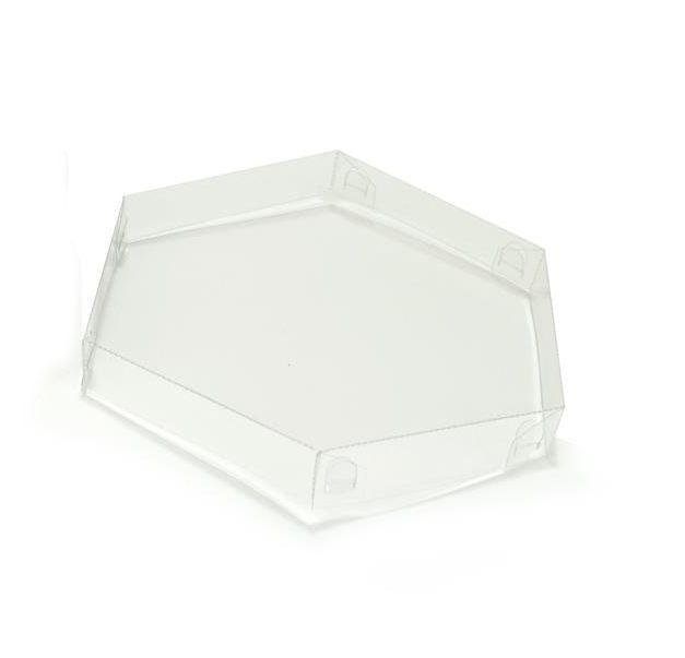 T027 - Tampa - 10x3 cm - Transparente