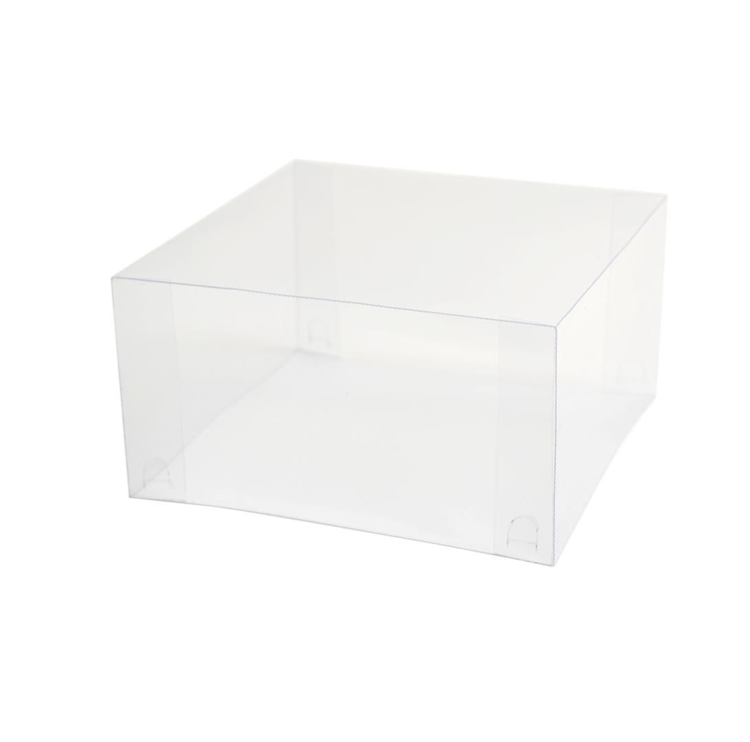 T035 - Tampa - 15,5x15,5x8 cm - Transparente