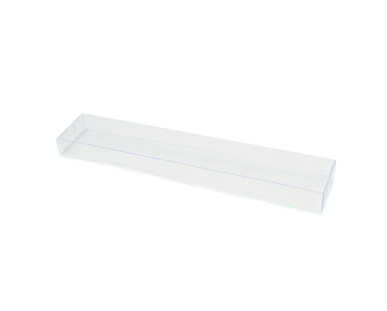 T101 - Tampa - 20x3,5x1,5 cm - Transparente