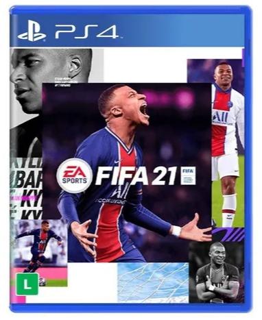 Pre-Venda ) Fifa 2021 (FIFA 21) - PS4 Mídia Física - Loja de Games - Tony  Games