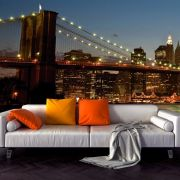 Adesivo de Parede 3D Brooklyn Painel Fotográfico F016