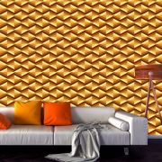Papel de Parede Geométrico Triângulos Chevron Adesivo P579