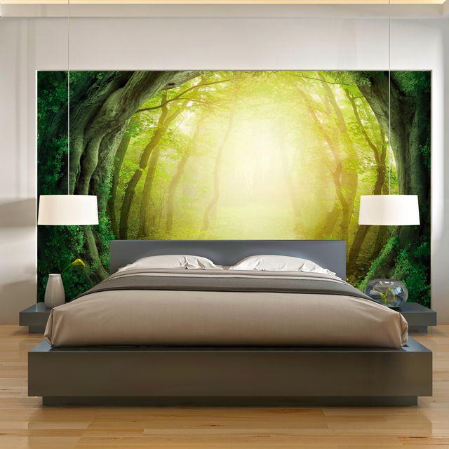 Adesivo de Parede Foto Mural Arvores F035