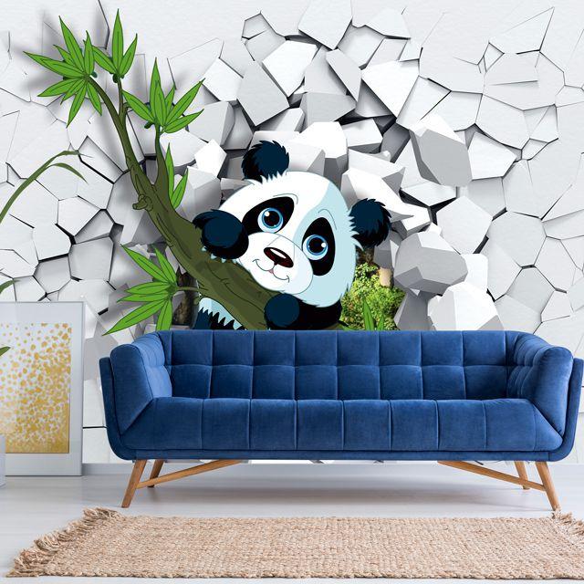 Adesivo de Parede Foto Mural Aspecto 3D F187