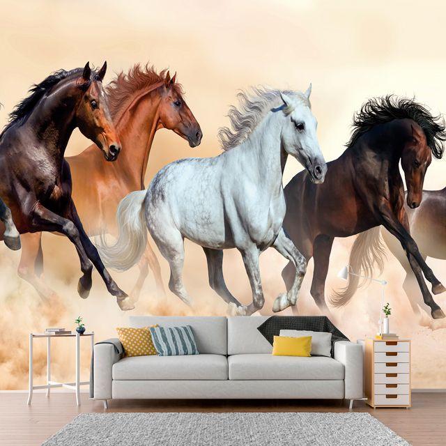 Adesivo de Parede Foto Mural Cavalo F001