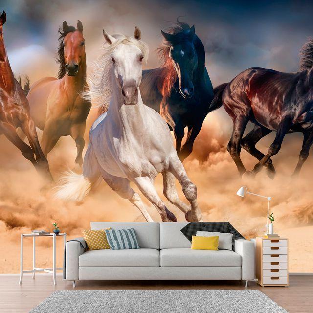 Adesivo de Parede Foto Mural Cavalo F002
