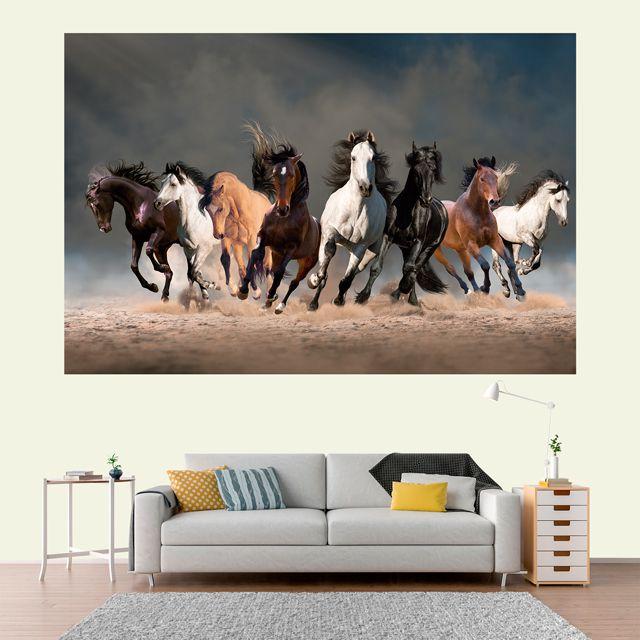 Adesivo de Parede 3D Cavalo Painel Fotográfico F006