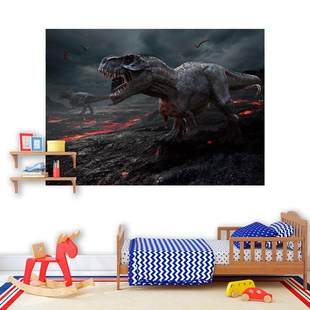 Adesivo de Parede Foto Mural Dinossauro F199