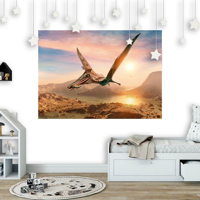 Adesivo de Parede Foto Mural Dinossauro F200