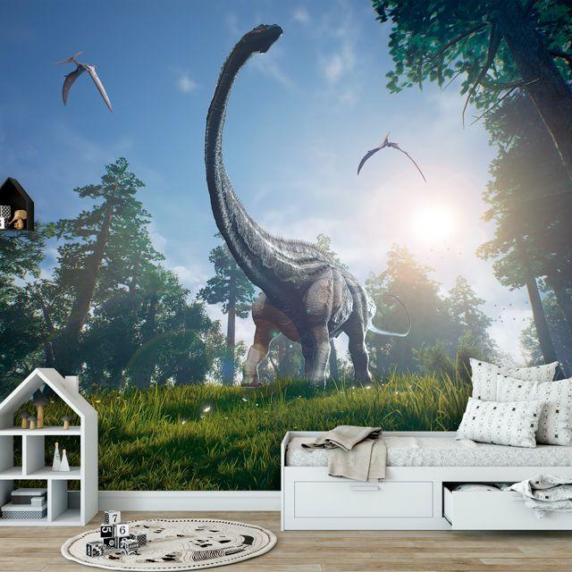 Adesivo de Parede 3D Dinossauro Painel Fotográfico F206