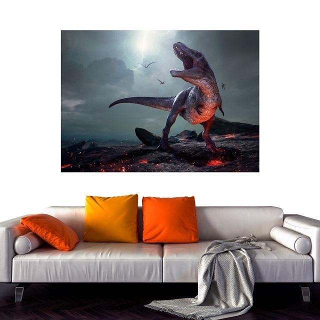 Adesivo de Parede Foto Mural Dinossauro F207