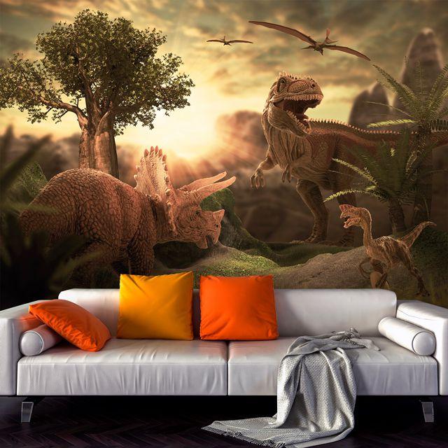 Adesivo de Parede Foto Mural Dinossauro F213