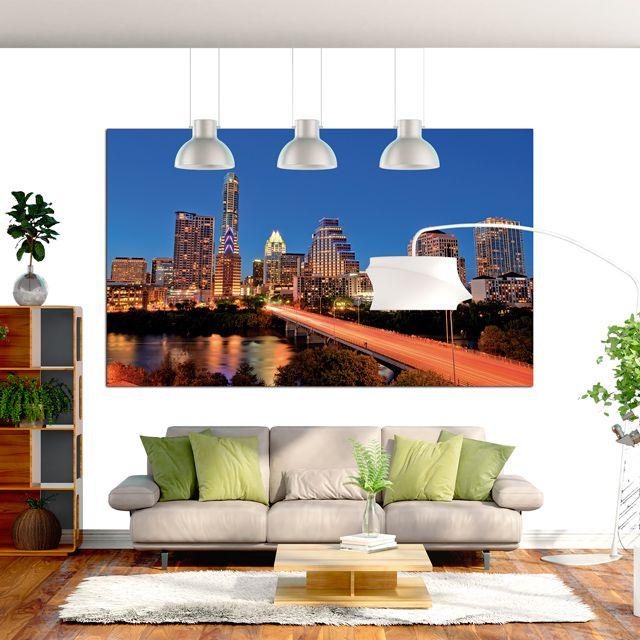 Adesivo de Parede Foto Mural Downtown F033