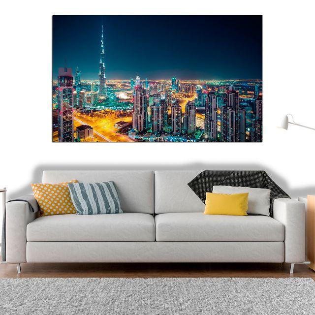Adesivo de Parede 3D Dubai Painel Fotográfico F022