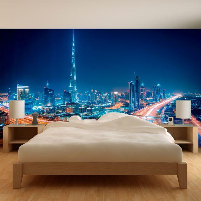 Adesivo de Parede 3D Dubai Painel Fotográfico F023