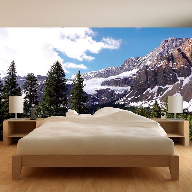 Adesivo de Parede 3D Paisagem Montanha Painel Fotográfico F049
