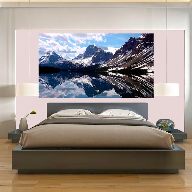 Adesivo de Parede 3D Paisagem Montanha Painel Fotográfico F050