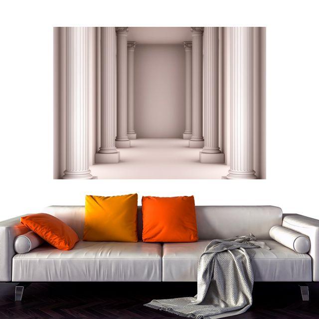 Adesivo de Parede 3D Monumento  Painel Fotográfico F196