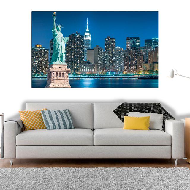 Adesivo de Parede 3D New York Painel Fotográfico F028