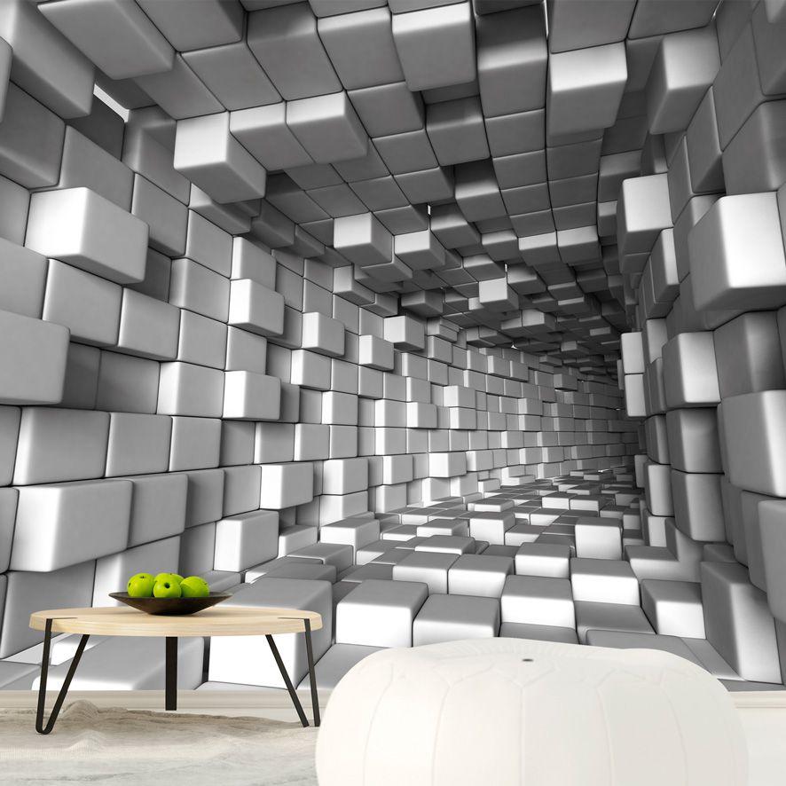 Adesivo de Parede Foto Mural Tunel 3D F229