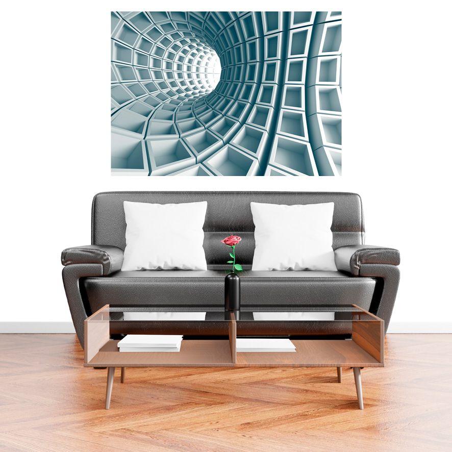 Adesivo de Parede 3D Tunel  Painel Fotográfico F242