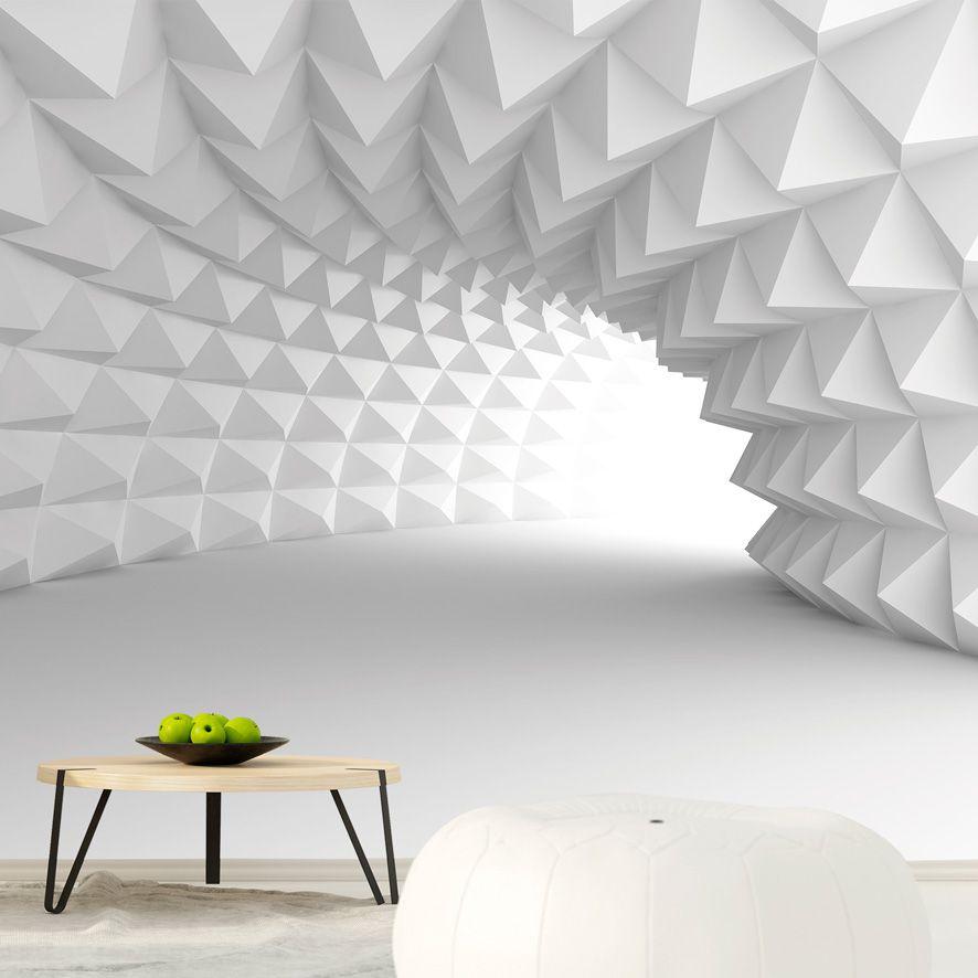 Adesivo de Parede Foto Mural Tunel 3D F244
