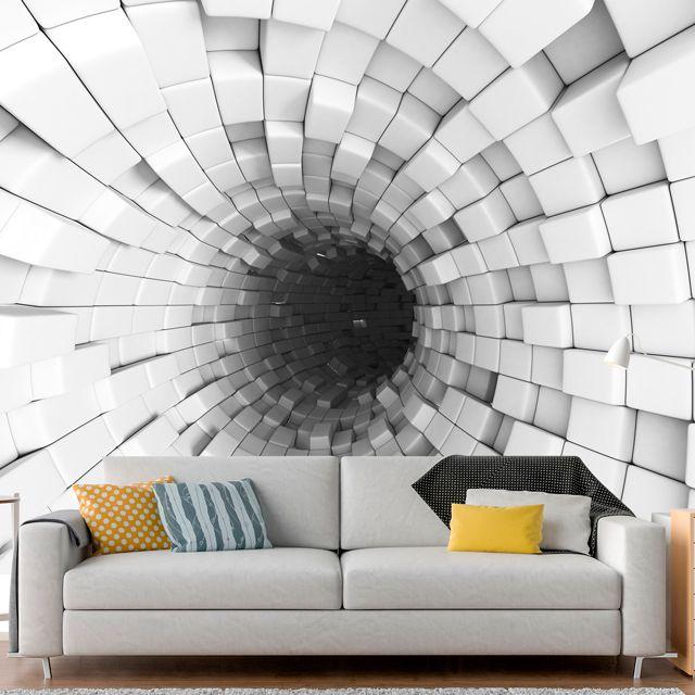 Adesivo de Parede 3D Tunel  Painel Fotográfico F246