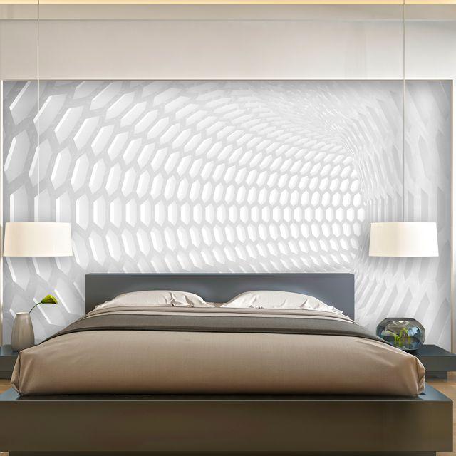 Adesivo de Parede 3D Tunel  Painel Fotográfico F250